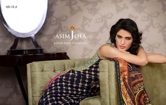 Asim Jofa 2014 Luxury Lawn 1