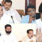 DCO and CPO Faisalabad Meeting with PTI Leaders