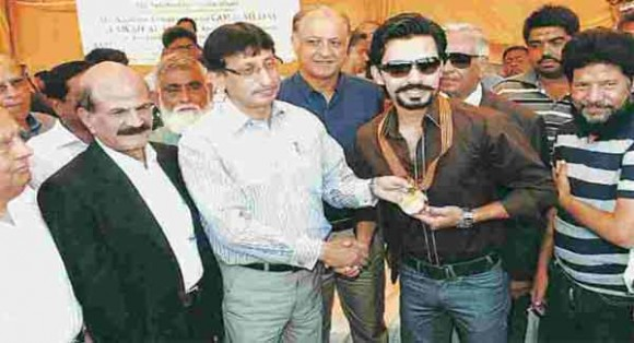 Fawad Alam Gold Medal 2014