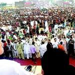 Imran Khan Rally in PP-136 Narowal