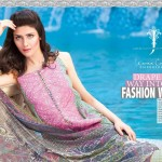 Karam Summer Lawn Collection 2014 by Jubilee Cloth Mills