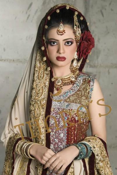 Tharas 2014 Bridal Dress 2