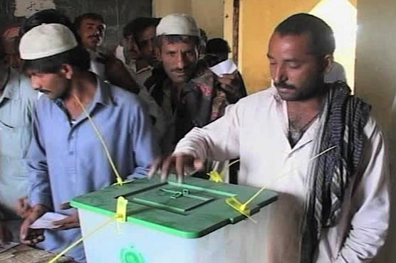 voting in na-202 shikarpur