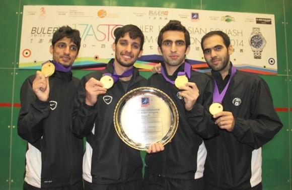 Asian Squash Champions 2014