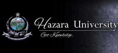Hazara University Mansehra Logo