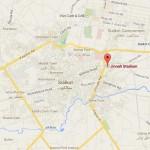 Jinnah Stadium Sialkot Location Map