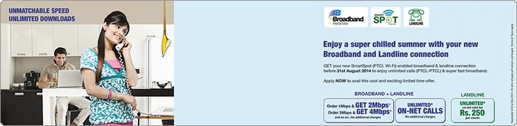 PTCL SmartSpot Offer