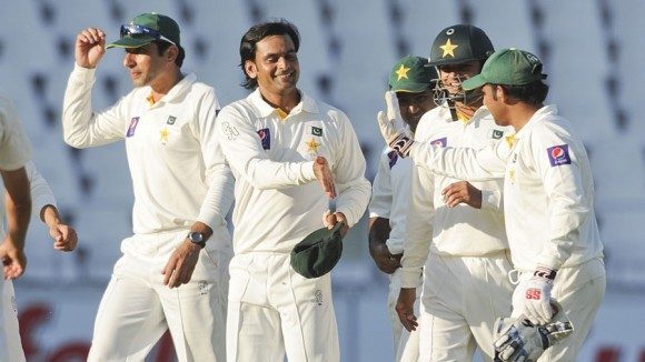 Pakistan Test rankings 2014
