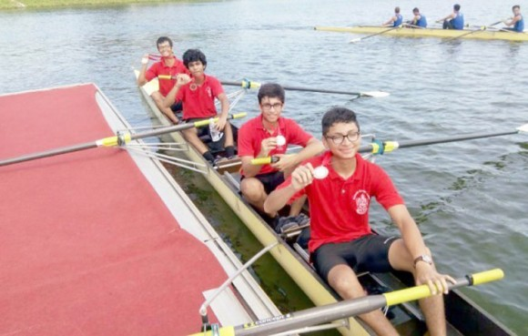 Pakistani Rowers Gold Medals