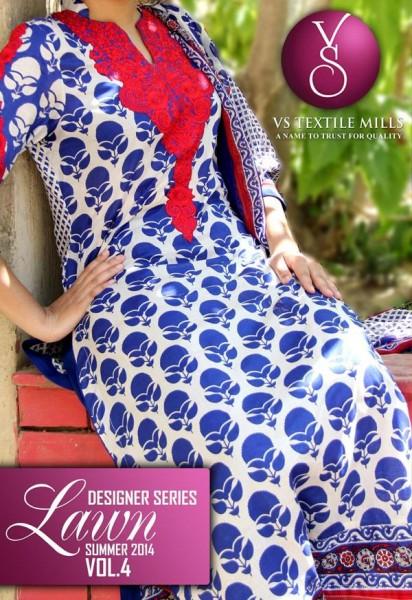 VS Textile 2014 Designer Lawn 1