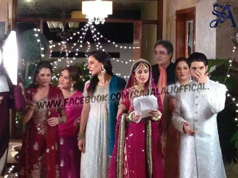 Pics For > Sajal Ali Wedding Pics With Husband