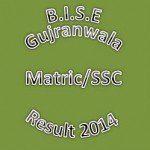 BISE Gujranwala Board Matric-SSC-Class 10th Result 2014
