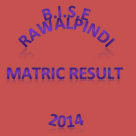 BISE Rawalpindi Matric Result 2014