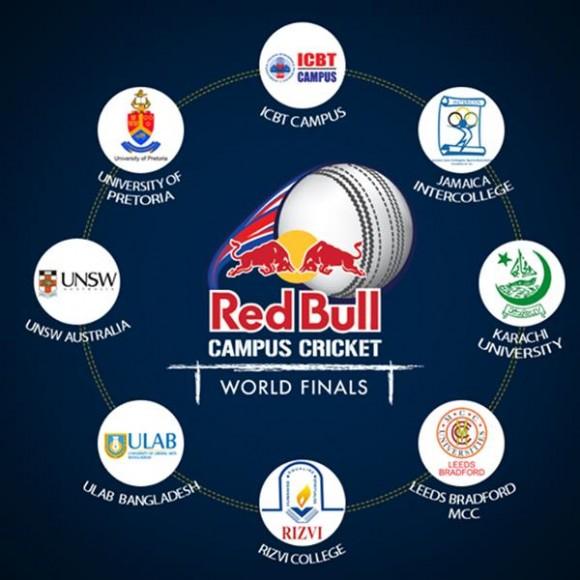 Redbull Campus Cricket  2014 Universities