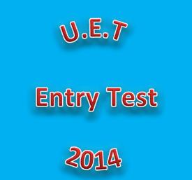 UET Entry Test 2014