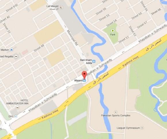 Aabpara Chowk Islamabad Near Lal Masi, Sports Complex