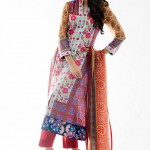 Amna Ismail Lawn 2014 Mid Summer 3