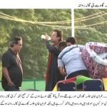 Imran Khan Going to Bani Gala from Dharna at Aabpara Chowk Islamabad