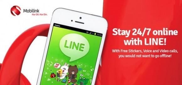 Mobilink LINE Messenger
