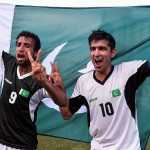Pakistan football team draw the 1st practice match in Bahrain
