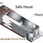 Tahir ul Qadri Bullet Poof Container-Truck