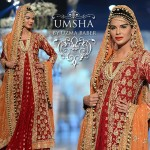 luxury bridal dresses for fall winter 2014 wedding season by Uzma Babar.