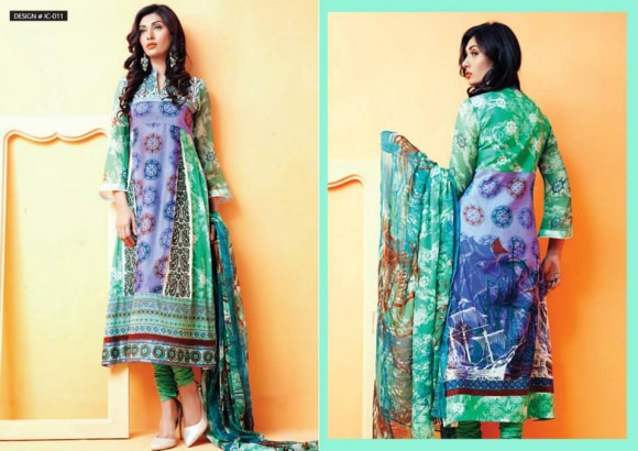best mid summer dresses to wear on wedding and eid parties by Amna Ismail