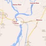 Head Trimmu Jhang Chenab River Flood Level Decreased
