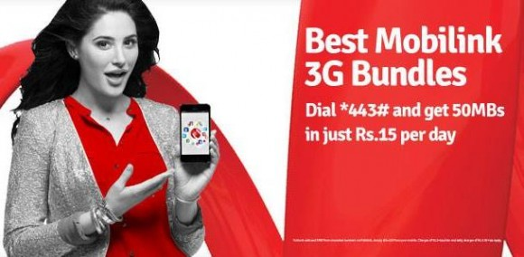 Mobilink 3G Packages Full Detail