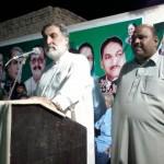 Iqbal Khakwani Addressing election rally NA 149