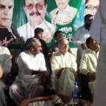 Javaid Hashmi, Javed Ali Shah and Haji Ihsan uddin