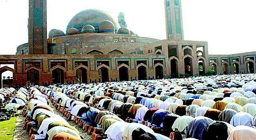 Juma Prayer in Bahria Town Lahore Masjid