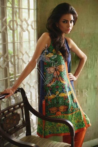 Nida Azwer 2014 Winter Dress 1