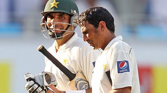 Misbah lead with Younis Khan in test series against Australia