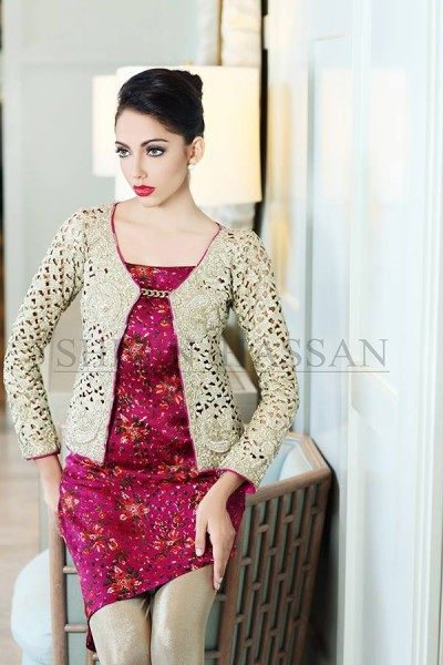 Shirin Hassan 2014 Designer Dress 15
