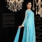 Zunaira Lounge 2014 Winter Dress 2