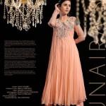 Zunaira Lounge 2014 Winter Dress 3