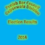 Punjab Bar Council Election Gujranwala, Gujrat, Sialkot, Mandi Bahauddin, Hafizabad, Narowal Districts