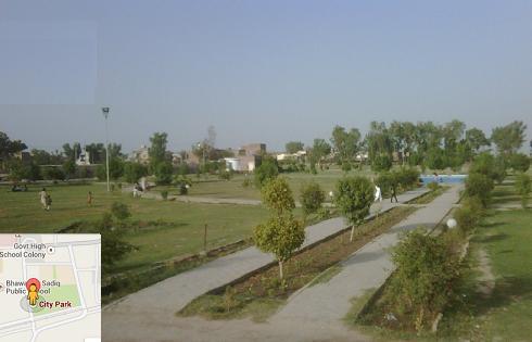 City Park Khanpur dist Rahim Yar Khan View