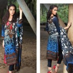 Firdous Pashmina 2014 Shawl Dress 1