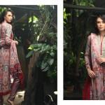 Firdous Pashmina 2014 Shawl Dress 10