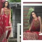 Firdous Pashmina 2014 Shawl Dress 11
