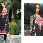 Firdous Pashmina 2014 Shawl Dress 12