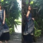 Firdous Pashmina 2014 Shawl Dress 13