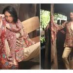 Firdous Pashmina 2014 Shawl Dress 14