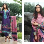 Firdous Pashmina 2014 Shawl Dress 16