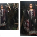 Firdous Pashmina 2014 Shawl Dress 17