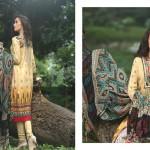 Firdous Pashmina 2014 Shawl Dress 4
