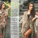 Firdous Pashmina 2014 Shawl Dress 5