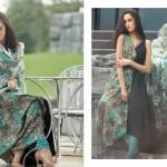 Firdous Pashmina 2014 Shawl Dress 6
